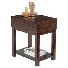 Chair Side Tables With Storage Progressive Furniture Chairsides Chairside Table With Pull Out