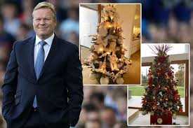 ronald koeman forced to change the colour of his tree
