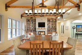Linear Chandelier Dining Room Awesome Linear Dining Room Lighting Photos Rugoingmyway Us