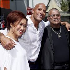 the biography of dwayne johnson dwayne johnson parents dad mom and family