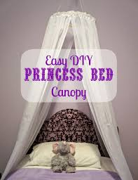 How To Hang Curtains Around Bed by Easy Diy Princess Canopy Creative Ramblings