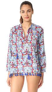 roberta roller rabbit joesfina tunic with tassels shopbop save