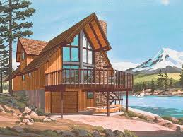 a frame house pine peak rustic a frame home plan d house plans and more table