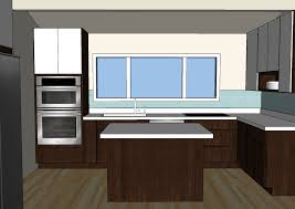 sketchup kitchen design sketchup kitchen design and the house milk kitchen project the plan design milk