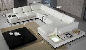 Modern Italian Leather Sofa by Modern Leather Sectionals Divani Casa T35 Modern Italian Leather