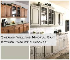 sherwin williams brown kitchen cabinets mindful gray kitchen cabinets evolution of style