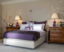 Purple Bedroom Accent Wall - purple bedroom decor ideas with grey wall and white accent bedroom