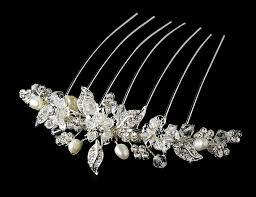 bridal hair combs stunning floral bridal hair comb bridal hair accessories