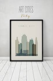Home Decor Reno Nv Las Vegas Print Poster Wall Art Nevada Cityscape Las Vegas