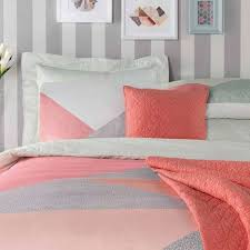 Dunelm Mill Duvets Elements Colour Block Reversible Duvet Cover And Pillowcase Set