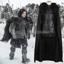 Size Men Halloween Costumes Aliexpress Buy Game Thrones Cosplay Costume Men Jon Snow