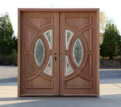 Exterior Door Handleset Exterior Double Door In Solid Mahogany