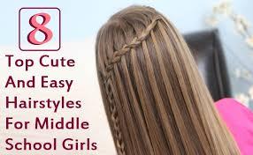 cute girls hairstyles for easy rustic u2013 wodip com