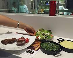 d uter en cuisine the steak bar dubai united emirates menu prices