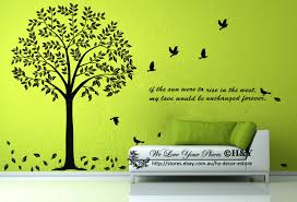 giant bodhi tree wall art decal removable vinyl stickers mural size small height 130cm medium height 150 cm 11 extra large height 180 cm 20 extra small black is default please ask for adjusted invoice for