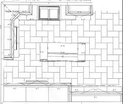 layout of kitchen tiles which direction for rectangular floor tiles