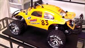 yellow baja bug traxxas slash 2wd with pro line baja bug body youtube