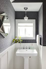 powder rooms with wallpaper wall wallpaper powder room traditional with grey and black bathroom