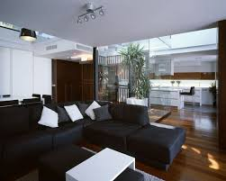 home design flooring awesome home designs spacious living room interior with black