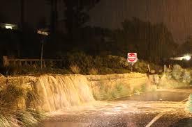 friday night lights santa barbara powerful winter storm leaves santa barbara county wet and weary