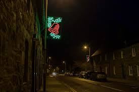 aberfeldy forced to keep up christmas lights because there are