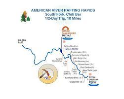 half day south fork american river rafting trip chili bar