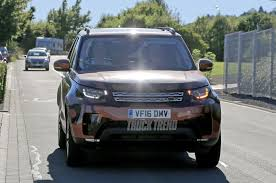 old land rover truck spied 2018 land rover discovery without camouflage