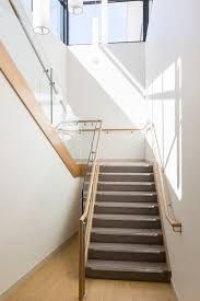 Stephen Banister Stair Staircase Commercial Non Slip Treads Tasmanian Oak