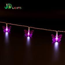 aa battery light bulb purple butterfly fairy lights holiday 10led white light bulb wedding