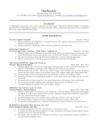 Resume For It Support Resume For Help Desk Technical Support Pin Help Desk Resume 187