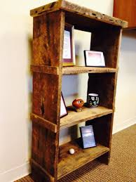 Distressed Wood Bookcase Custom Bookcases Custommade Com