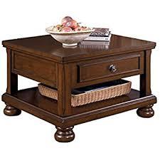 Lift Top Coffee Tables Amazon Com Ashley Furniture Signature Design Hatsuko Coffee