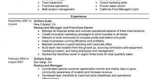Food Service Worker Job Description Resume by Food Server Resume Objective Examples