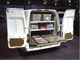 Ford Transit Connect Shelving by Commercial Truck Idealetter