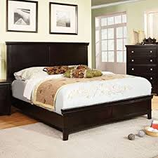 amazon com dunhill transitional espresso eastern king size bed