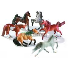 minnie whinnies breyer 300101 mini whinnies mares collection 6 pieces