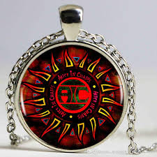 vintage necklace chains images Wholesale alice in chains logo pendant necklace popular rockband jpg