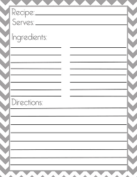 free printable recipe pages recipe blank template gidiye redformapolitica co