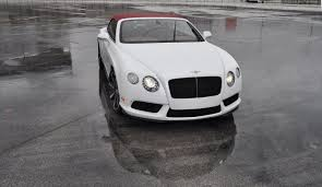 First Drive Review 2015 Bentley Continental Gt V8s White Satin 23