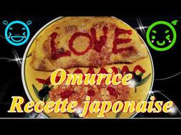 recettes cuisine japonaise omurice recette cuisine japonaise