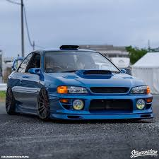 subaru gc8 widebody subienation sur twipost com