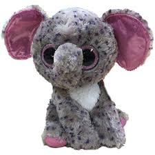 ty beanie boos specks speckled elephant glitter eyes