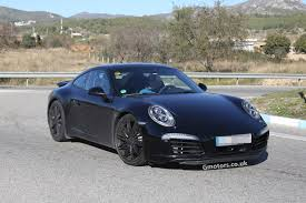 porsche 911 carrera gts black vwvortex com 2015 porsche 991 911 facelift spied most likely