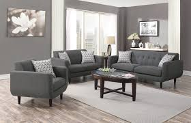 Modern Sofa And Loveseat 505201 Stansall Collection Dox Furniture