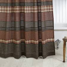 blue and brown plaid shower curtain u2022 shower curtains design