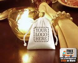custom favor bags custom printed muslin favor bags cotton bags