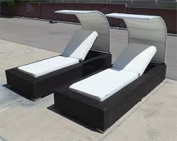 Outdoor Lounge Chair With Canopy Outdoor Wicker Chaise Lounge Chairs With Wicker Lounge Chair Set