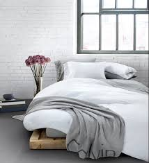 White Cotton Bed Linen - modern cotton bed linen one reason to sleep in mycalvins