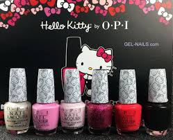 kitty by opi nail lacquer collection 6pcs