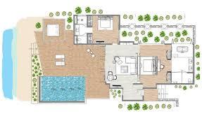 raffles hotel floor plan maldives resort outrigger konotta maldives resort konotta island